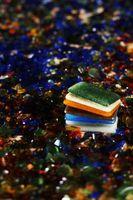 Encimeras de granito y cristal pared azulejos Ideas