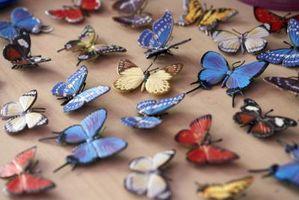 Ideas para el dormitorio de una niña mariposa