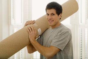 Estirar la alfombra sin una camilla de alfombra