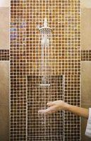 Cómo determinar la ducha azulejos diseño