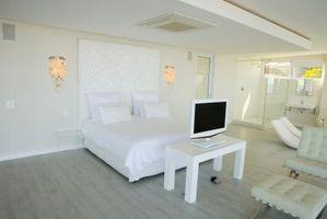 Ideas para un dormitorio de montaje de pantalla plana