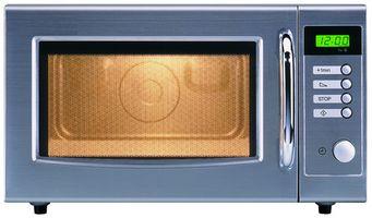 ¿Cómo hornos de microondas calentar el alimento?
