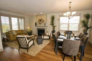 Cómo hacer un medio muro entre la cocina y la sala de estar