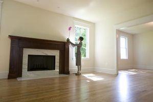 Cómo colocar pisos de madera con moldura