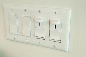 Cómo conectar dos lámparas y un interruptor más dévil