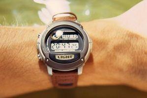 Cómo establecer una alarma de reloj Digital