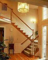 Cómo construir escaleras con rellanos