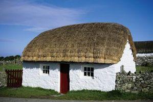 Planes para una casa de estilo Cottage inglés