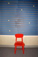 Como señal de socorro-pintar una silla