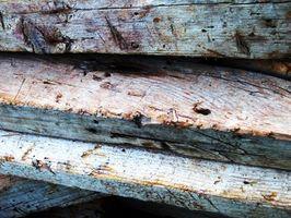 Cómo envolver una viga de madera