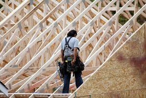 ¿Cómo marco una vigueta viga de techo