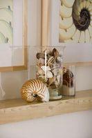 Cómo decorar un manto con conchas marinas