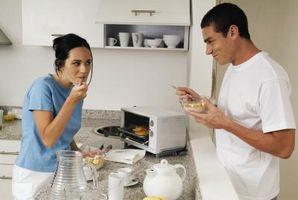 La diferencia entre la encimera y hornos tostadores