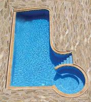 ¿Cómo es una piscina construida?