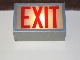 Normativa sobre construcción de iluminación de emergencia