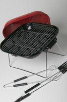 Cómo utilizar amortiguador de una parrilla de carbón