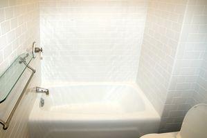 Pared y piso Ideas para un baño pequeño