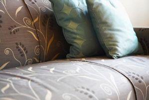 Cómo determinar las yardas de tela para un sofá