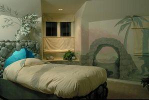 Diseños creativos para pintar su habitación