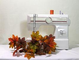 ¿Cómo aceite de una máquina de coser Janome 405?