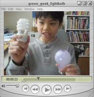 ¿Lo que están hechos de tubos fluorescentes?