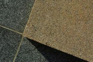 Instalación de azulejo DIY para una encimera de granito