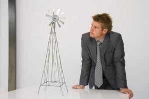 Cómo hacer un molino de viento decorativo independiente