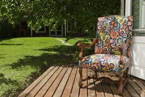 Color de madera para terrazas