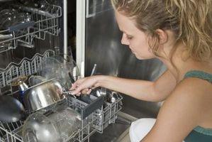 Cómo solucionar problemas de lavavajillas Sears Kenmore 587