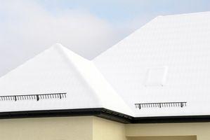 Especificaciones del material para techos residenciales