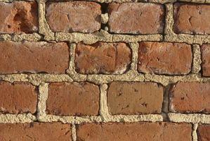 Cómo darle a una pared de ladrillo del Faux una mirada 3D