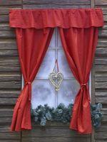 Cómo hacer cortinas con lazos del uno mismo