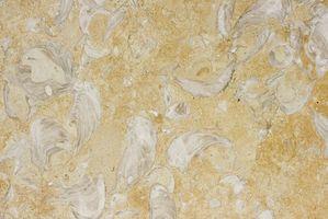 Cómo utilizar baldosas de mármol para la encimera