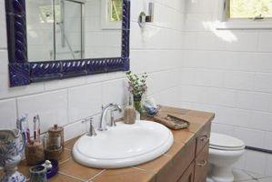 Cómo actualizar un cuarto de baño con un presupuesto