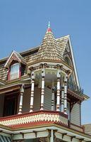 Histórica casa Exterior colores