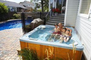 Cómo hacer que mi bañera de hidromasaje como una piscina climatizada en el verano