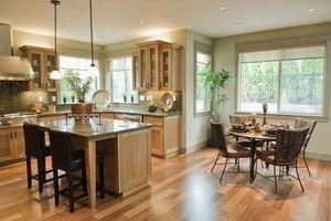 Cómo sacar el lavavajillas y la gama de instalación de pisos de madera