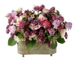 Cómo hacer arreglos florales de recipiente bajo