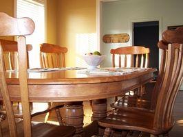 Ideas de decoración de mesa de comedor