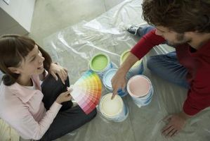 Pinturas de cómo coordinar los colores de una habitación con Ralph Lauren