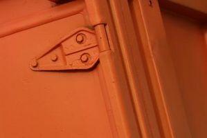 ¿Qué tipo de soluciones voluntad tomar pintura y manchas de gabinetes?