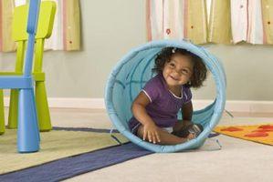 Cómo dividir los juguetes de los niños de la sala de estar