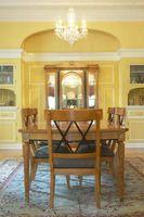 ¿Qué pintura colores complemento mobiliario de roble claro?