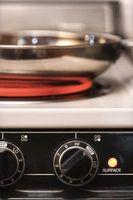 Cómo iniciar un horno eléctrico