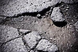 Cómo calcular el volumen de asfalto