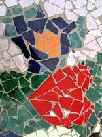 Cómo hacer vitrales mosaico macetas al aire libre