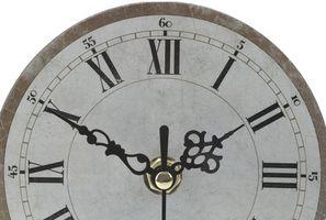 Cómo decorar con relojes de pared antiguos