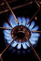 ¿Puede utilizar una corriente descendente con una estufa a Gas?