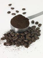 ¿Cómo medir los granos de café al utilizar un percolador
