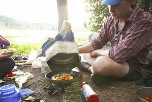 ¿Es propano cocina estufa caja fuerte para el uso de calor en una Camper?